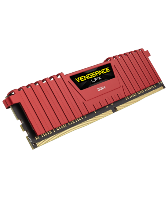 CORSAIR VENGEANCE® LPX 16GB (2X8GB) DDR4 DRAM 3000MHZ C15 MEMORY KIT - RED