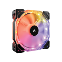 CORSAIR HD120 RGB LED HIGH PERFORMANCE 120MM PWM FAN