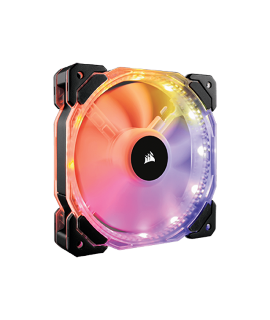 CORSAIR HD120 RGB LED HIGH PERFORMANCE 120MM PWM FAN