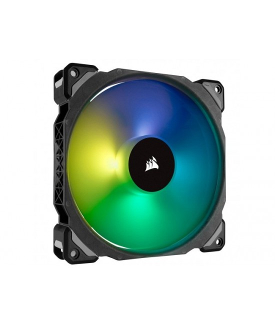 CORSAIR ML120 PRO RGB LED 120MM PWM PREMIUM MAGNETIC LEVITATION FAN — 3 FAN PACK WITH LIGHTING NODE PRO