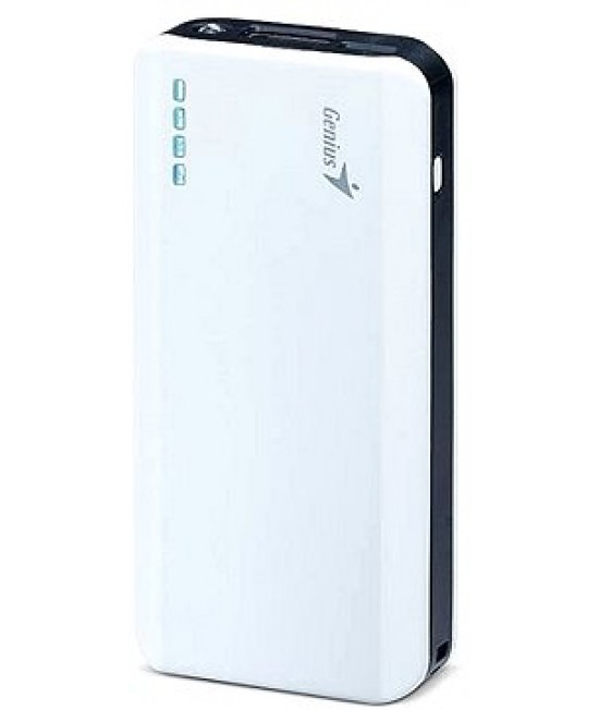 GENIUS ECO-U622 6000MAH POWERBANK - WHITE