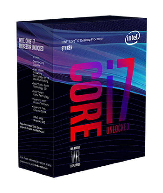 Intel® Core™ i7-7700 Kabylake Processor (8M Cache, up to 4.20 GHz)